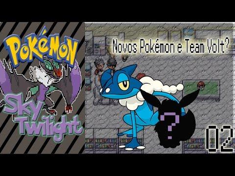 Pokémon Sky Twilight - #02 - Frogadier, Eevee e Team Volt!