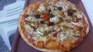 Pizza de A à Z méthode rapide Facile et Inratable au four à bois , pizza from A to Z