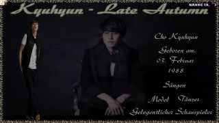 Yoon Jong Shin ft. Kyuhyun of Super Junior - Late Autumn (늦가을) k-pop [german sub]