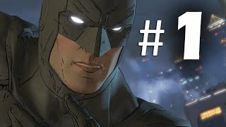 Batman The Telltale Series Episode 1 - Part 1 Gameplay Walkthrough