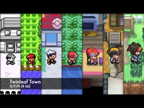 Pokémon: All Starting Town Themes 8 Bit Style