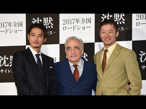 MARTIN SCORSESE at 'SILENCE' Press Conference In Japan. 「沈黙」マーティン・スコセッシが来日! 窪塚洋介&浅野忠信らのキャスティング理由は?