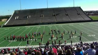 Olney, TX - Pride of Olney High School Marching Band @ Memorial Stadium Wichita Falls