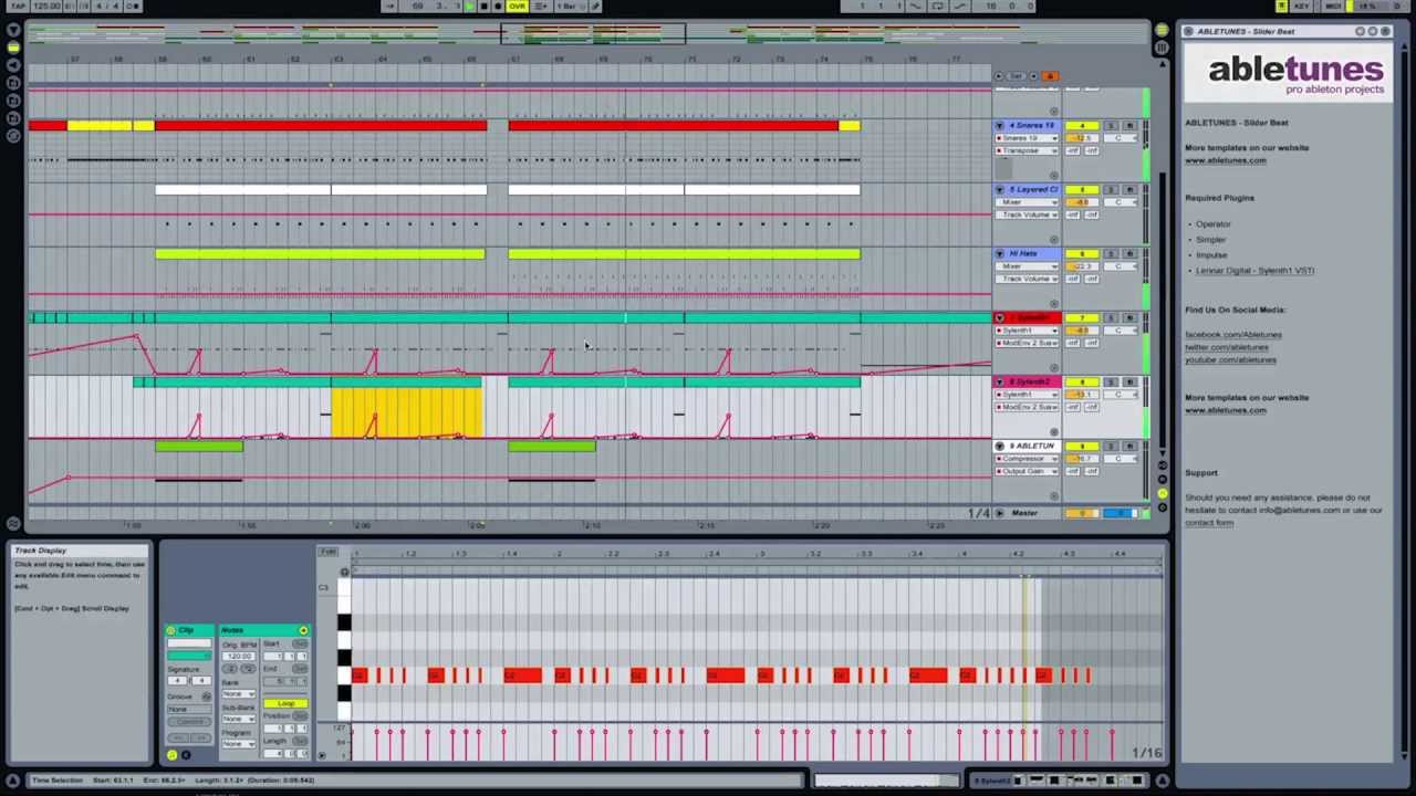 Free Ableton Live Template \