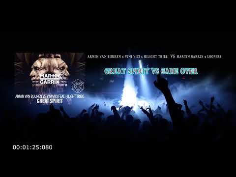 Armin Van Buuren - Great Spirit VS Martin Garrix - Game Over (Krisna Mashup)