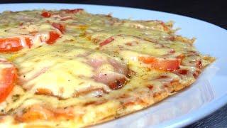 ДОМАШНЯЯ ПИЦЦА Вкусный рецепт пиццы за 5 мин