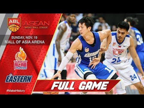 Tanduay Alab Pilipinas vs. Hong Kong Eastern | FULL GAME | 2017-2018 ASEAN Basketball League