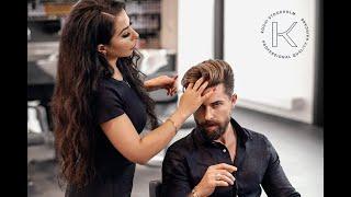 Men´s hair DYE TRANSFΟRMATION - Teasylights & Grayblending