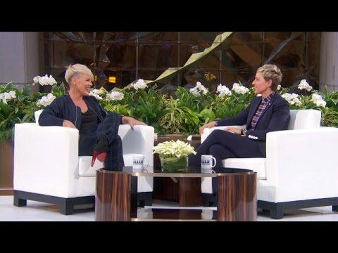 P!nk Talks Ellen's New Theme Song