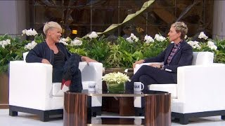 P!nk Talks Ellen