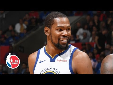 Kevin Durant's playoff career-high 50 fuels Warriors to advance past the Clippers | NBA Highlights