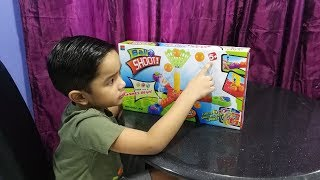 Kids play ball shoot game | Shoot ball shooting game play-set toy for kids