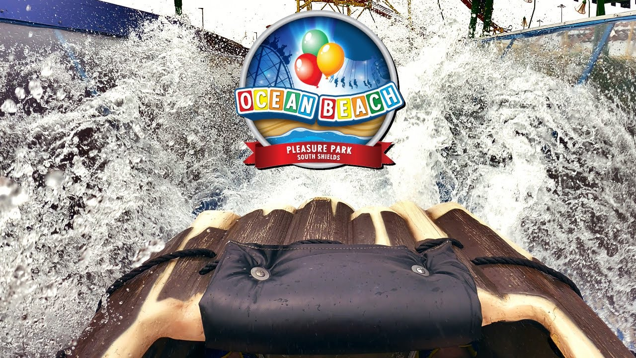 Log Flume at Ocean Beach Pleasure Park | 4K On-Ride POV