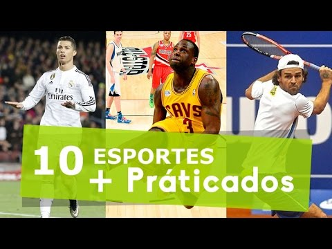 Top 10 - Esportes Mais Praticados no Mundo