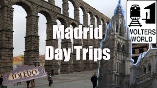 Madrid Day Trips: Segovia, Toledo, Avila & El Escorial