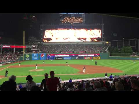 Cleveland Indians Andrew Miller Entrance