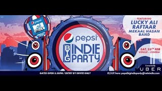 PEPSI BIG INDIE PARTY feat. Lucky Ali | Sakchyam | Deeksha n Himal