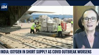 Israel Sends Medical Equipment to COVID-Ravaged India