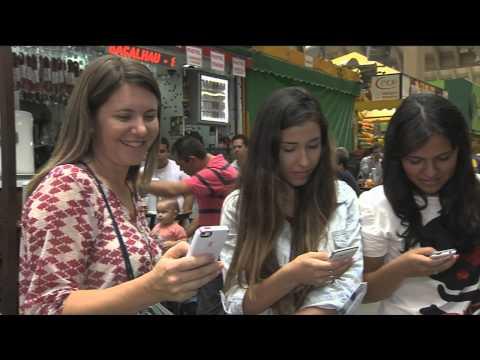 Acesso do wifi em espaços públicos de São Paulo
