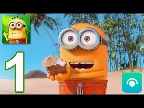 Minions Paradise - Gameplay Walkthrough Part 1 - Level 1-3 (iOS, Android)