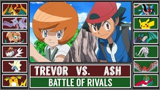 Ash vs. Trevor (Pokémon Sun/Moon) - Kalos League Battle (Custom)!