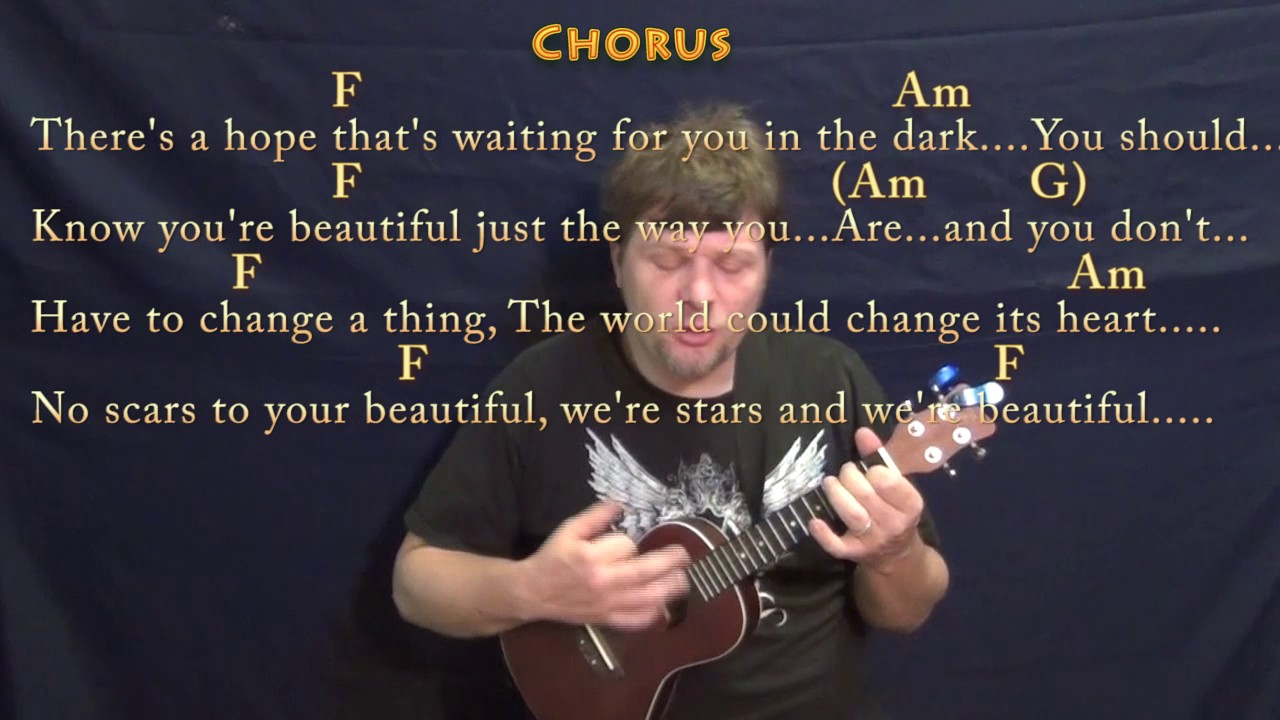 Scars to your beautiful alessia cara ukulele cover lesson with scars to your beautiful alessia cara ukulele cover lesson with chords lyrics hexwebz Image collections