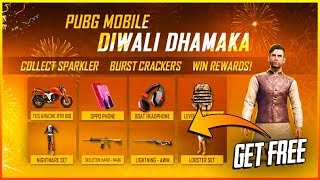 pUBG MOBILE DIWALI DHAMAKA EVENT, RECALL EVENT & WEEKEND FEVER EVENT FULL EXPLAINED || RETINA GAMING