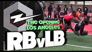 🔥The Opening Regionals | Los Angeles |  RB v LB | 1v1s | Under The Radar Highlight Mix