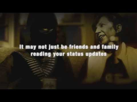 Personal Security Online 2: RAF, Friends & Family