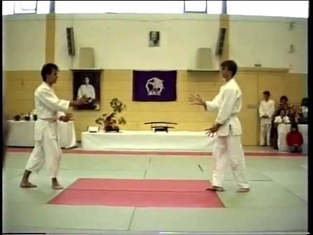 Aikido Yoshinkan Demonstration in Munich 1988 - Payet, Muguruza, Nagano