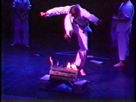 "Black Belt Test at The Wheeler Opera House Aspen Colorado "" Fire Break """