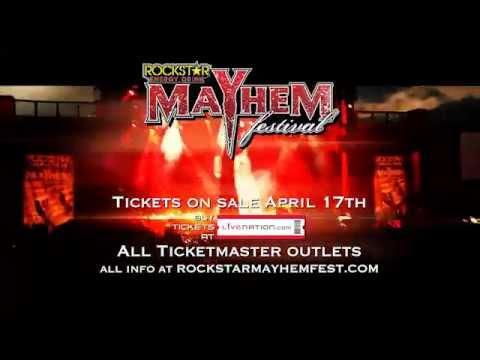 SLAYER TO HEADLINE MAYHEM 2015!!!