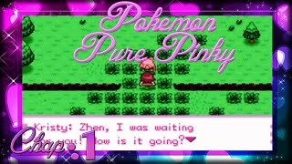 Pokémon Pure Pink Chapter 1: Party with my best friend!