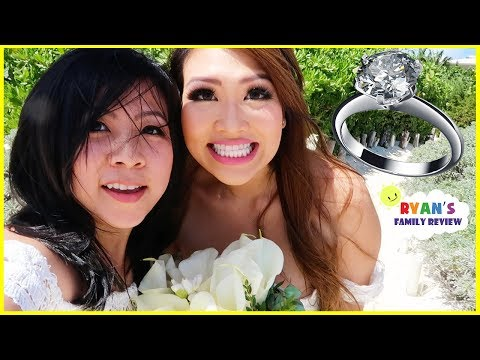 Princess T got Married!  Wedding Celebration with Ryan's Family Review