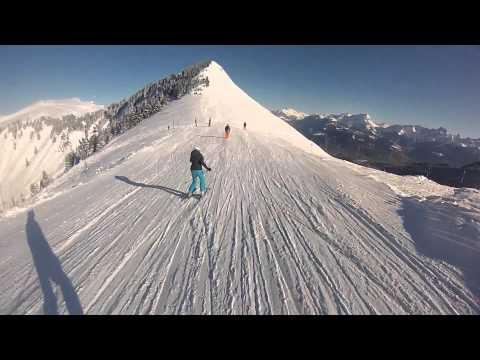 GoPro Hero 3 - Skiing in Switzerland