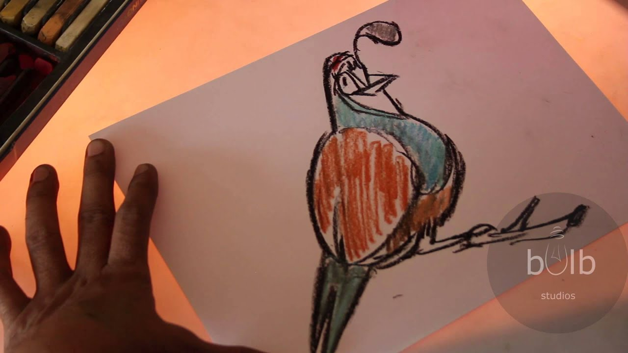 how to draw quail scribble for kids youtube