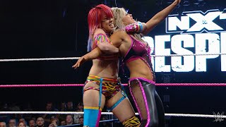 Asuka debuts against Dana Brooke: NXT TakeOver: Respect: Oct. 7, 2015 (WWE Network Exclusive)