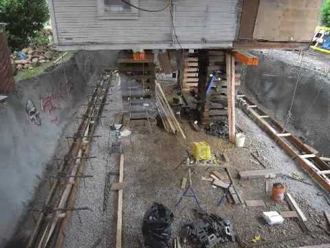 Foundation Replacement Time Lapse Youtube