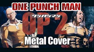 One Punch Man Opening 2 - Seijaku no Apostle (JPN)   Versión Metal (Paulo Cuevas)