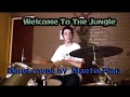 Welcome To The Jungle - Guns And Roses - Drum Cover (Martin Piriz)
