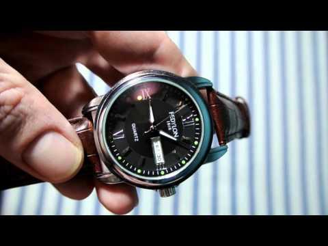 Fedylon1868, недорогие мужские часы, с календарем. (Дата и день недели)