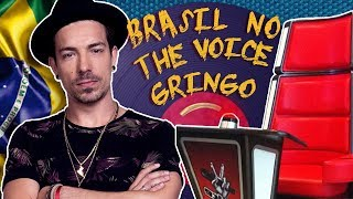 15 MÚSICAS BRASILEIRAS NO THE VOICE GRINGO! 🎤  (ft. Di Ferrero)