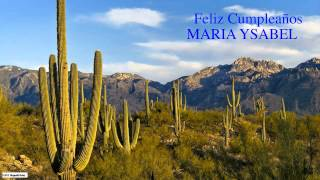 MariaYsabel   Nature & Naturaleza - Happy Birthday