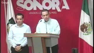 Rueda de Prensa - PGJE Sonora