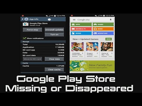 How to Fix Google Play Store Icon Missing or Disappeared Version 5.6.8