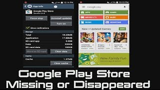SOLVED - How to Fix Google Play Store Icon Missing or Icon Disappeared