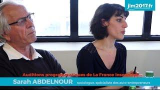 Audition programmatique #7 - Uberisation et salaire à vie - Sarah Abdelnour et Bernard Friot