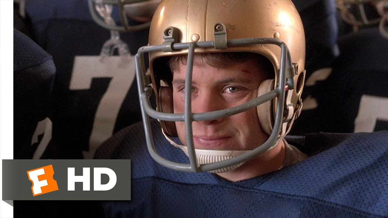 I Ve Been Ready For This My Whole Life Rudy 7 8 Movie Clip 1993