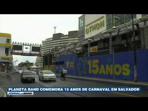 Carnaval: Camarote da Band comemora 15 anos em Salvador