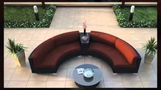 4 Piece Urbana Eclipse Round Outdoor Sofa Set By Harmonia Living